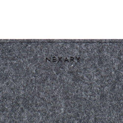 『[NEXARY] MacBook Pro Retina 13 インチ, Air 13インチ, Ultrabook 13.3 インチ フェルト スリム 収納 パソコン インナーケース (13PR チャコールグレー)』の3枚目の画像