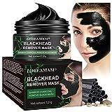 Peel Off Masque,Black Mask,Anti-Point Noir Masque,Blackhead Remover Mask,Dissolvant de tête Noire pour l'huile et l'acné for Oily,Nettoyant en Profondeur Rétrécir Pores 120 g