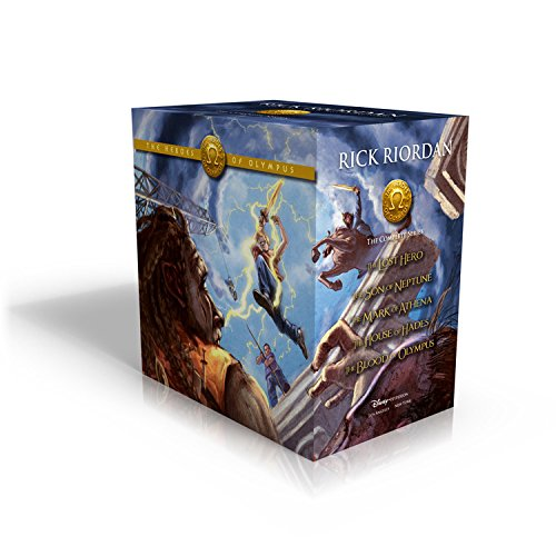 Compare Textbook Prices for The Heroes of Olympus Hardcover Boxed Set Box Edition ISBN 8601411348877 by Riordan, Rick,Rocco, John