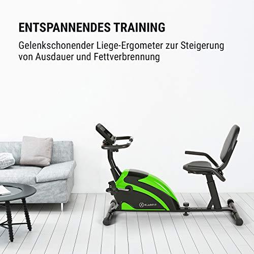 Klarfit Relaxbike 60 SE Liege-Ergometer kaufen  Bild 1*