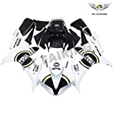NT FAIRING Lucky Strike Injection Mold Fairing Fit for Yamaha 2002 2003 YZF R1 R1000 YZF-R1 Painted Kit ABS Plastic Motorcycle Bodywork Bodyframe Aftermarket 02 03 02R1