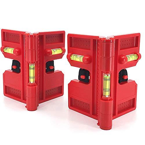 Fransande Wasserwaage, Magnetische Werkzeughalterungen für die Aufbewahrung Zur Aufbewahrung, Luftkontrollstufe üBerprüFen (2Er-Pack)