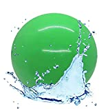 Aqua Ball – Swimming Pool Ball | 9 inch Ball Fills with Water |Swimming, Diving, and Underwater Pool Games | Gift for Kids, Teens, and All Ages | Aquatic Exercise and Training (Green)