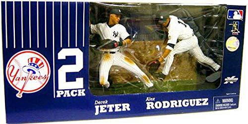 McFarlane MLB New York Yankees 2-Pack: Alex Rodriguez & Derek Jeter