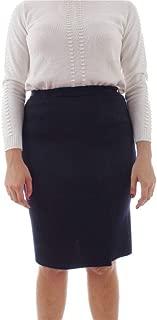 ALDO COLOMBO Luxury Fashion Womens A1314 Blue Skirt | Fall Winter 19