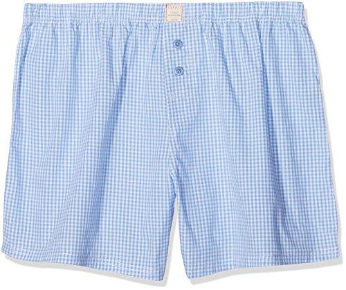 ESPRIT Herren 018EF2T016 Boxershorts, Blau (Light Blue 440), X-Large (Herstellergröße: 7)