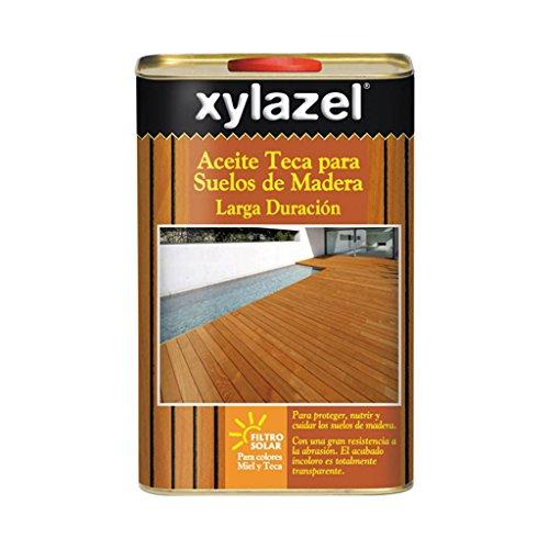 Xylazel M257654 - Aceite teca suelos larga duracion 2 5 l