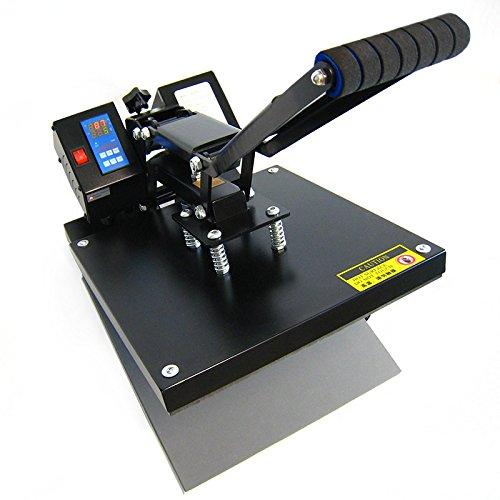 HobbyCut AA1-S Transferpresse Textilpresse T-Shirt Presse 38x38cm 2000Watt