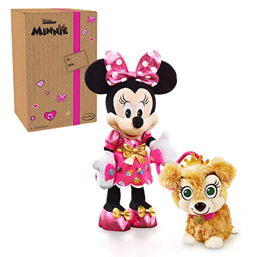 Disney Junior Minnie Mouse Party & Play Pup Plush