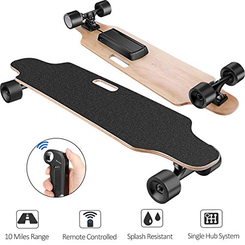 Fantastic Prices! Aceshin Electric Skateboard Longboard with Remote Small for Kids Teens, 250W Motor...
