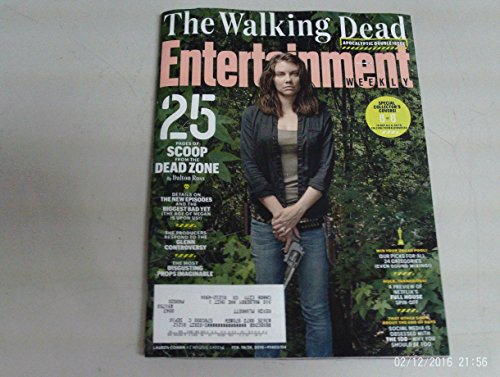 Entertainment Weekly February 19/26, 2016 The Walking Dead Cover #6 Lauren Cohan