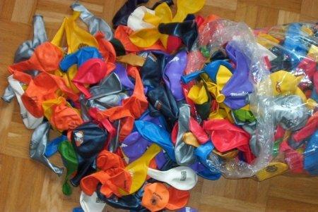 Unbekannt Ballons mit Fehldruck 1B Ballons / Raumfüllballons, gemischt, 1 kg