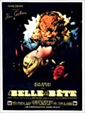 Poster 30 x 40 cm: Beauty and The Beast, (LA Belle ET LA BETE), Josette Day, Jean Marais de Everett Collection - Reproduction Haut de Gamme, Nouveau Poster