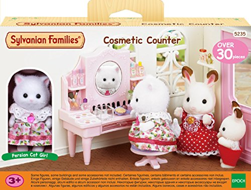 Sylvanian Families - Le Village - La Table de Maquillage et Figurine - 5235 - Commerce - Mini Poupées