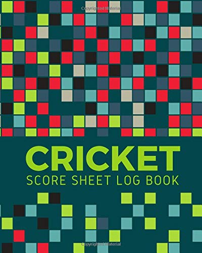 Cricket Score Sheet Log Book: Cricket Score Sheets, Cricket Scorebook, Cricket Score Pads, Scorekeeping Book, Scorecards, Record Scorekeeper Book ... Christmas, Thanksgiving, Vacation, 110 Pages