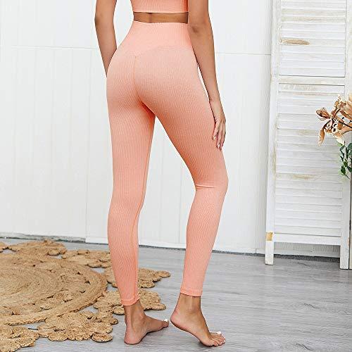 SUNXK Europa en de verkoop naadloze breien Bottom Slim Sneldrogend yoga fitness broek sexy vrouwelijke hip ademend ondergoed significante SUNXK (Color : Purple, Size : S)