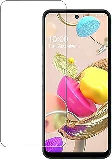N\B [2 pacotes] Película protetora de tela LG K52 de vidro temperado, protetor de tela transparente HD para LG K52