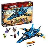 LEGO NINJAGO Le supersonic de Jay Jeu de construction, 9 Ans et Plus, 490 Pièces  70668