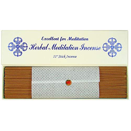 Erbe Meditazione incenso 27,9cm Bastone di incenso 100% Naturale B109