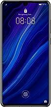 هاتف هواوي بي 30 الذكي، بسعة ذاكرة 128 جيجا مقاس6.1 انش شاشة بتقنية اوليد مع كاميرا لايكا الثلاثية 6 جيجا، ورام 6 جيجا، اموى 9.1.0 بنظام اندرويد بدون شريحة اتصال، لون اسود 6.1 51093QSE