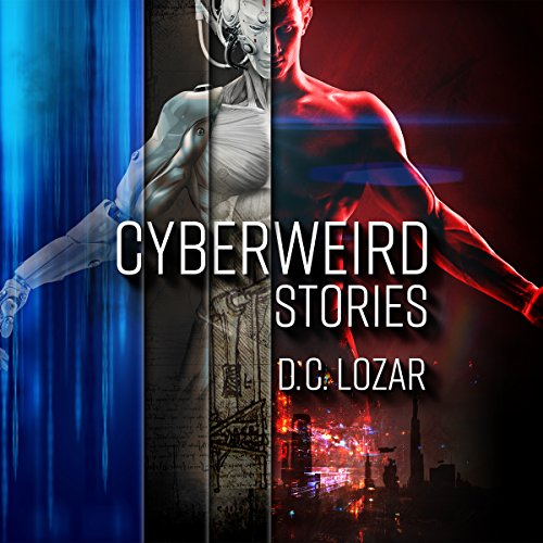 Cyberweird Stories audiobook cover art