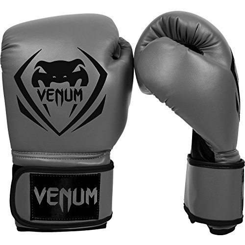 Venum Contender Boxing Gloves - Grey - 16-Ounce