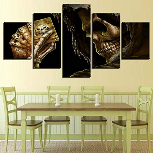 Vijfdelige collageklassieker Classic Oil Painting Five Print Wall Decoration Picture Trampoline Background Decoratieve Painting