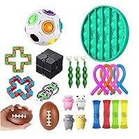 自閉症ADHDのための22パックのそわそわ感覚玩具 スクイーズ感覚玩具、子供と大人のためのストレスと抗不安ツールバンドルを緩和します