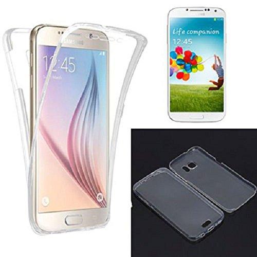 Desconocido Funda Gel Transparente Tapa Delantera TACTIL para Samsung Galaxy J7 2016 J710