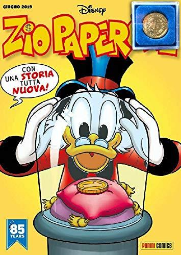 Zio Paperone N° 12 - con Moneta Numero Uno Gadget - Disney Panini Italiano
