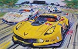 Corvette at Sebring Racing Print