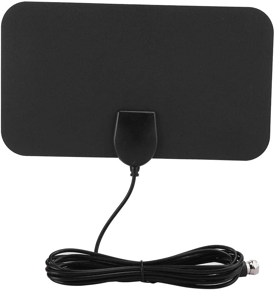 Annadue HD TV Antenna OFFicial mail order Digital Po Structure Compact Black Translated