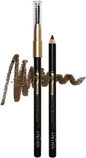 INIKA Certified Organic Brow Pencil, All Natural Make Up Eyebrow Liner, Vegan, Halal, Cruelty Free 1.2 g (Dark Brunette)