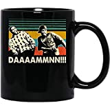 N/ Daaamn Meme Friday Vintage Retro Comedy tv Show Movie Funny Coffee Mug for Women and Men Tea Cups