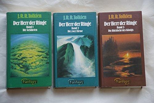 Der Herr der Ringe, Bände 1-3 (Die Gefährten / Die zwei Türme / Die Rückkehr des Königs)