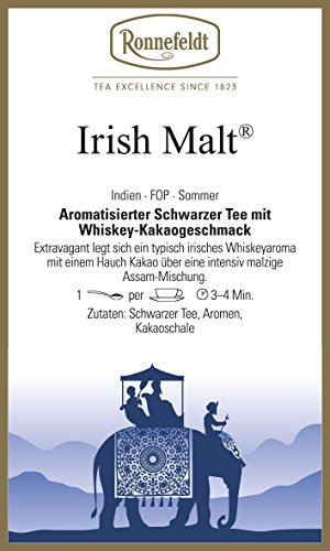 Ronnefeldt - Irish Malt® - Aromatisierter Schwarzer Tee - 100g
