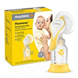 New Medela Harmony Manual Breast Pump, Single Hand Breastpump with...
