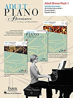 Adult Piano Adventures: Level 1 Bravo Pack