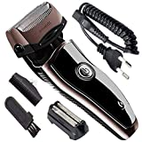 Best Electric Shavers For Men - Men's Electric Foil Shaver with 2 Spare Shaving Review