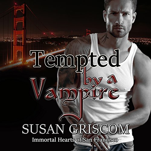 Tempted by a Vampire audiobook cover art