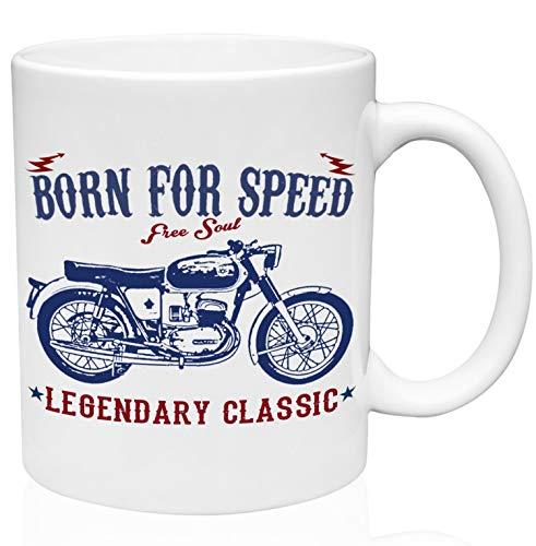 Bultaco mercurio 155 born for speed classic 11oz Taza de café de cerámica de alta calidad