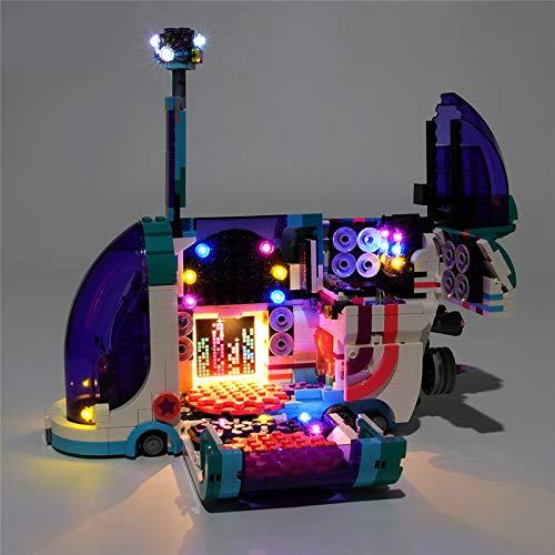 TMIL Iluminación De Fondo Compatible con Lego 70828, LED Light Kit De Película 2 Party Pop-Up Autobús Building Blocks (Lego Set No Está Incluido)