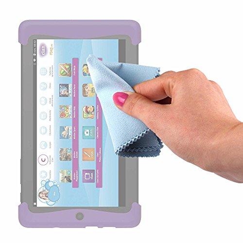 DURAGADGET Gamuza Limpiadora para Cefatronic - Tablet Clan Motion Pro - Ideal para Mantener La Pantalla Intacta