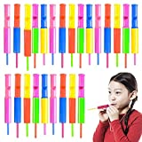 ArtCreativity Slide Whistles, Set of 144, Multicolored Mini Flutes Party Noisemakers, Musical Toys for Boys and Girls, Fun Birthday Party Favors, Goodie Bag Stuffers, and Pinata Fillers