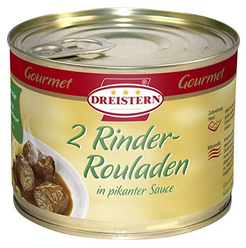 DREISTERN 2 Gourmet Rinderrouladen, 500 gramm