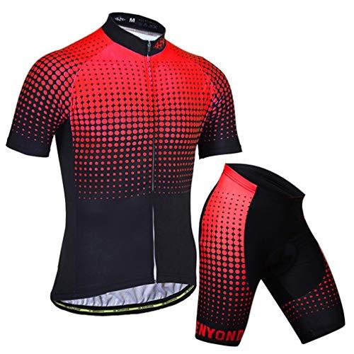 X-Labor - Maillot de ciclismo para hombre, talla grande, camiseta de manga...