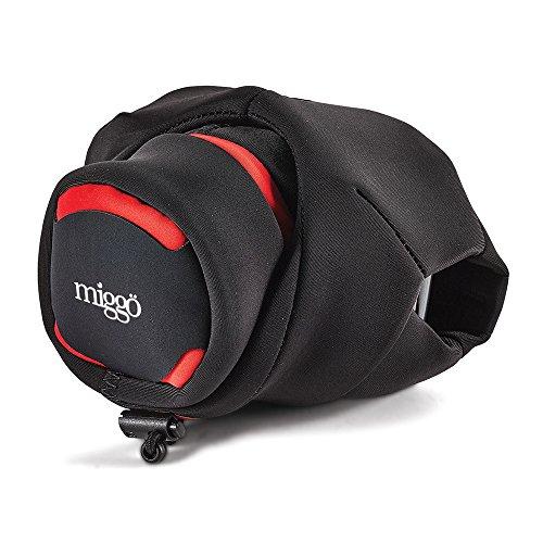 Miggo Custodia Grip&Wrap per Bridge/Superzoom - Rosso/Nero