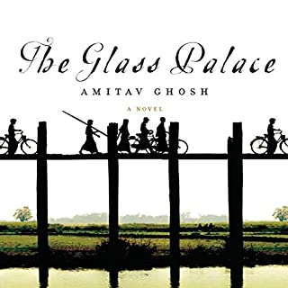 The Glass Palace audiobook cover art