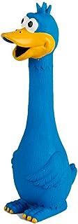 UEETEK Shrilling Huhn Spielzeug,Glabrious Drücken Schreiend Hähnchen Spielzeug Hund Spielzeug zum Spaß,Blau