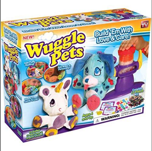 WUGGLE PETS 8-PC UNICORN & PUPPY BUILD A STUFF ANIMAL STARTER KIT AS SEEN ON TV ,#G14E6GE4R-GE 4-TEW6W204873